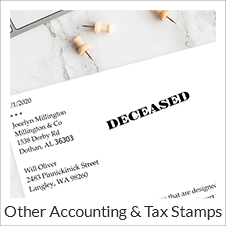 Tax And Accounting Stamps