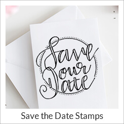 Save The Date Stamps Simply