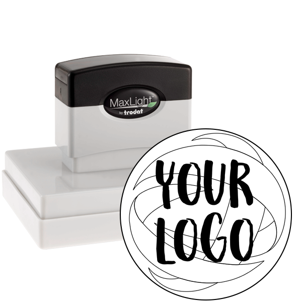 Extra Large Stamp for Round Logos