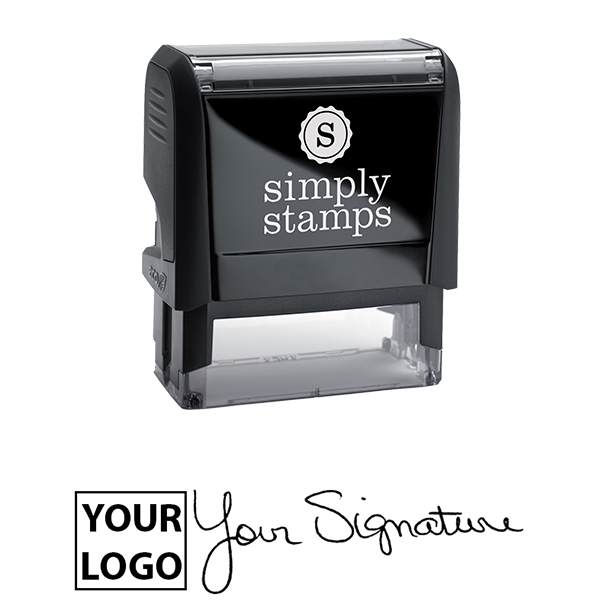 Large Signature Logo Stamp Body and Design