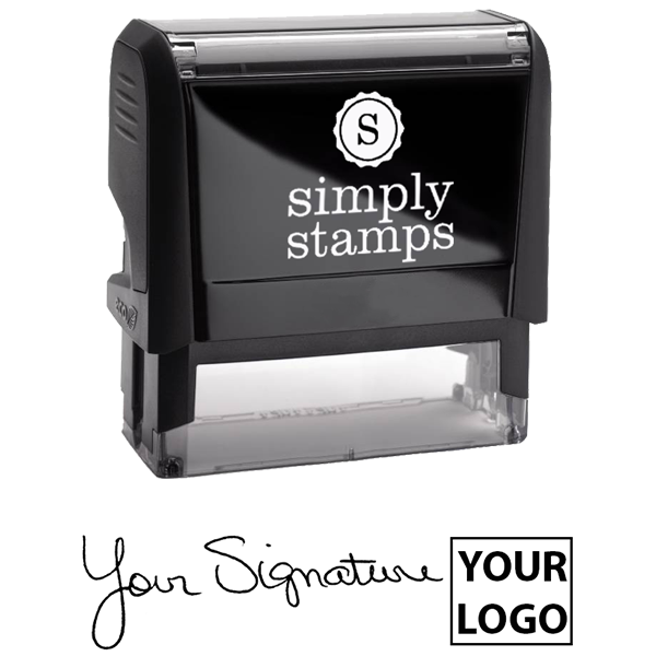 XL Right Logo Signature Stamp Body and Design