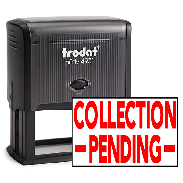Collection Pending Stamp