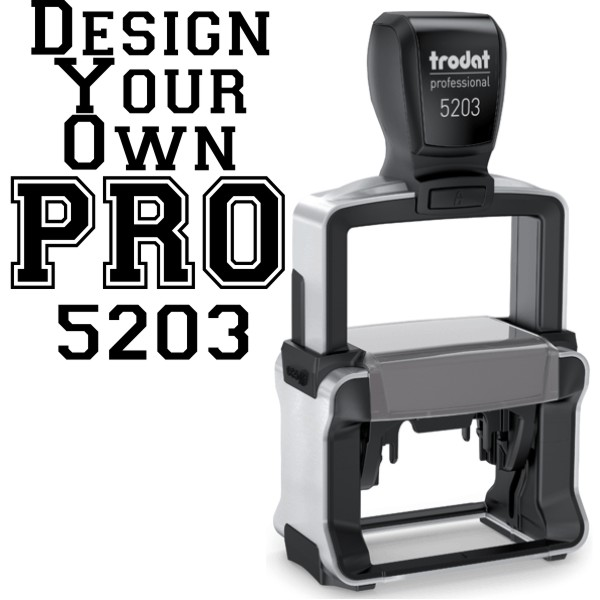 Trodat Professional  5203 | Ideal 6500 Self-Inking Stamp Model