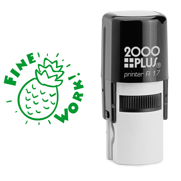 Fine Work Pineapple Stamp Body and Design