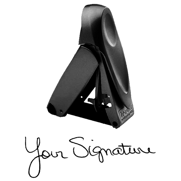 Self Inking Pocket Signature Stamp Body and Imprint