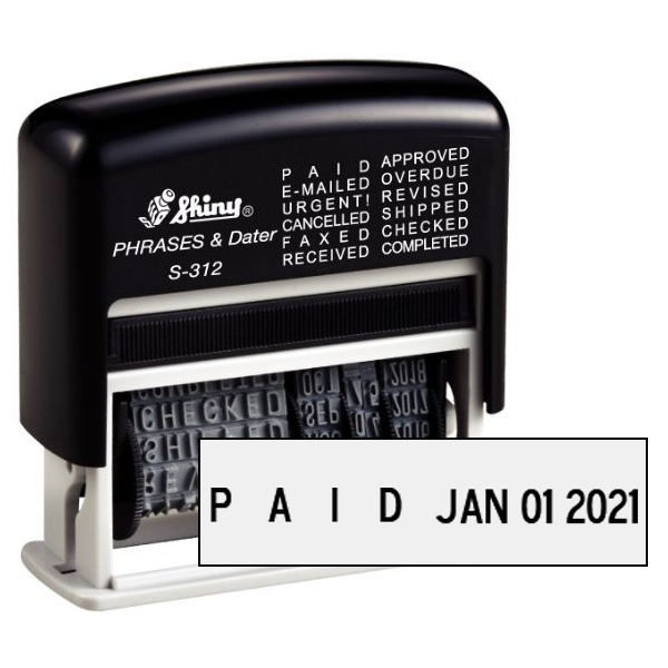 Shiny Phrases & Dater Stamp