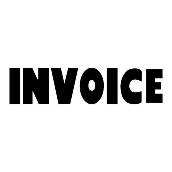 INVOICE Stock Stamp
