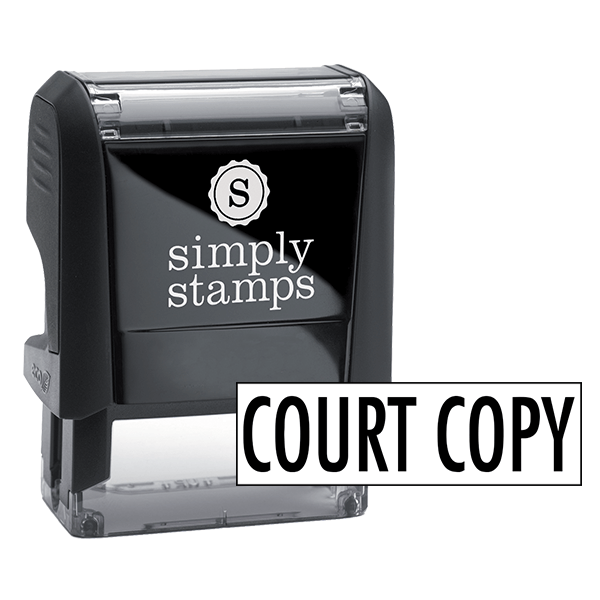 Court Copy Stock Stamp