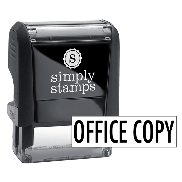 Office Copy Stock Stamp