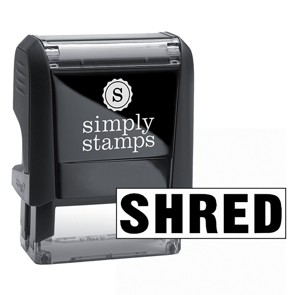 Shred Stock Stamp