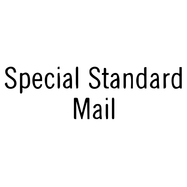 Special Standard Mail Stock Stamp