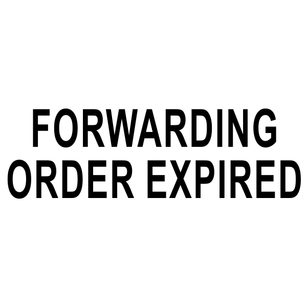 Forwarding Ordering Expired Stock Stamp