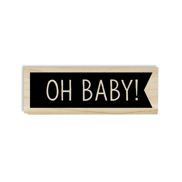 Oh Baby! Flag Craft Stamp Body and Design