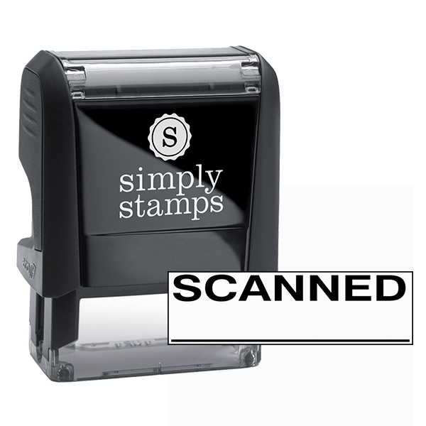Scanned Stock Stamp