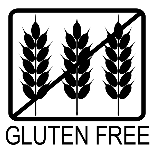 Gluten Free Allergy Alert Stamp Imprint