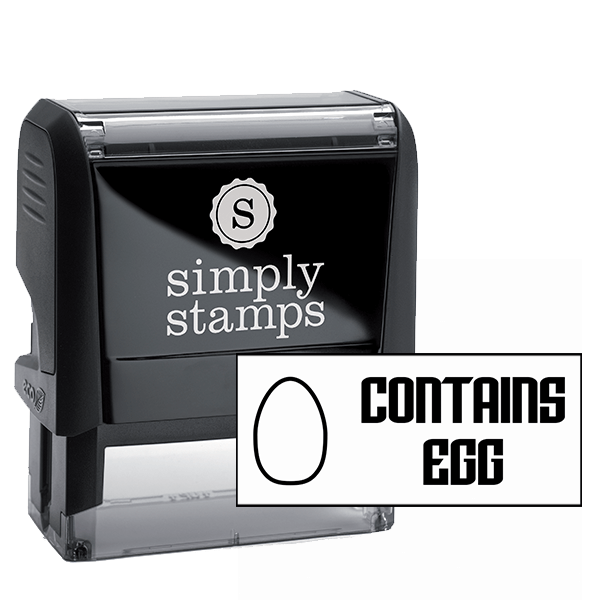 Contains Egg Stamp