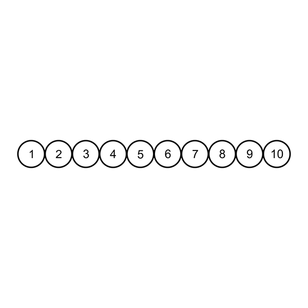 Circles for Card Loyalty Stamp
