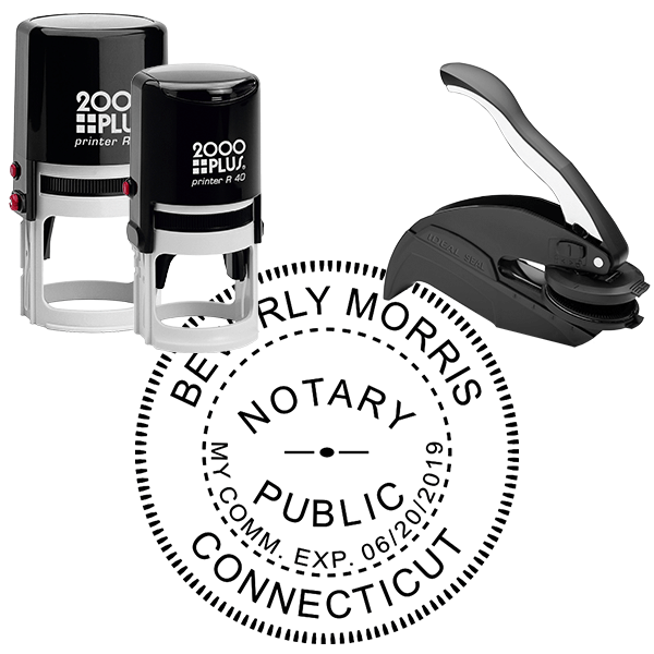 Connecticut Notary Seal Stamp
