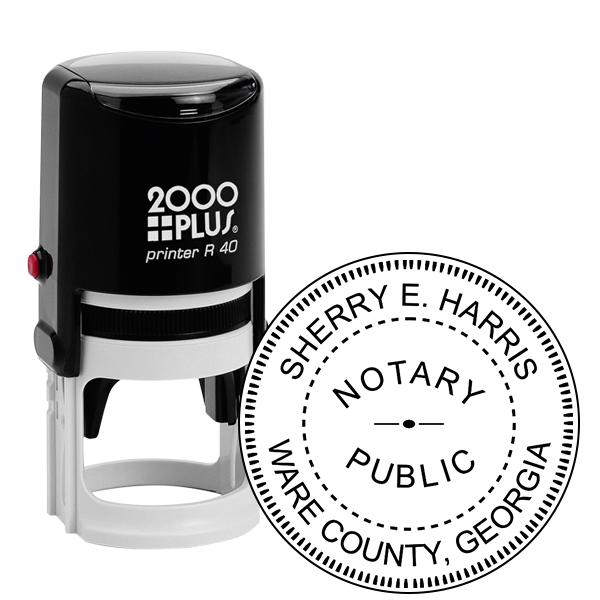 Georgia Notary Public Stamp or Seal