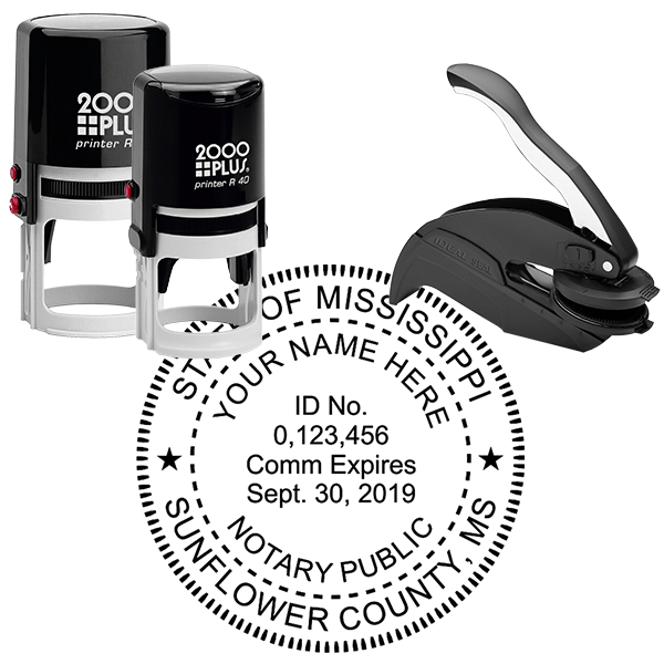 Mississippi Notary Seal Stamp