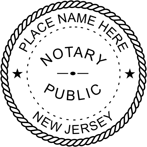 New Jersey Official Embosser Notary Seal