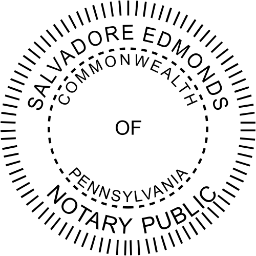 Pennsylvania Notary Seal Stamp