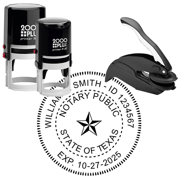 Texas Notary Seal Stamp
