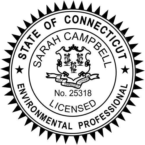 Connecticut Environmental Professional Seal