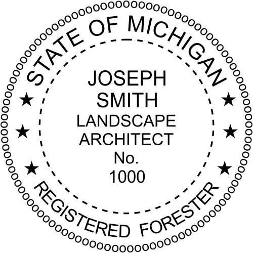 Michigan Forester Seal