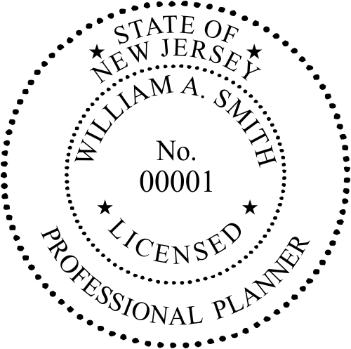 New Jersey Planner Seal
