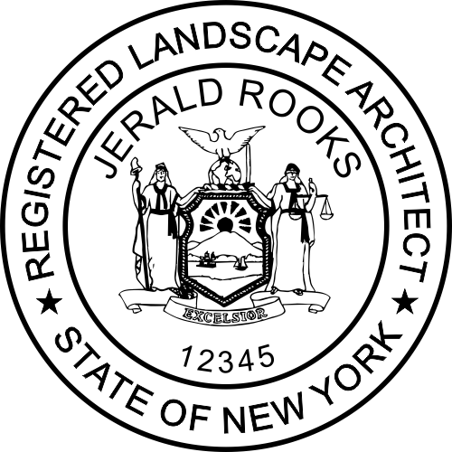New York Landscape Architect Stamp & Seal