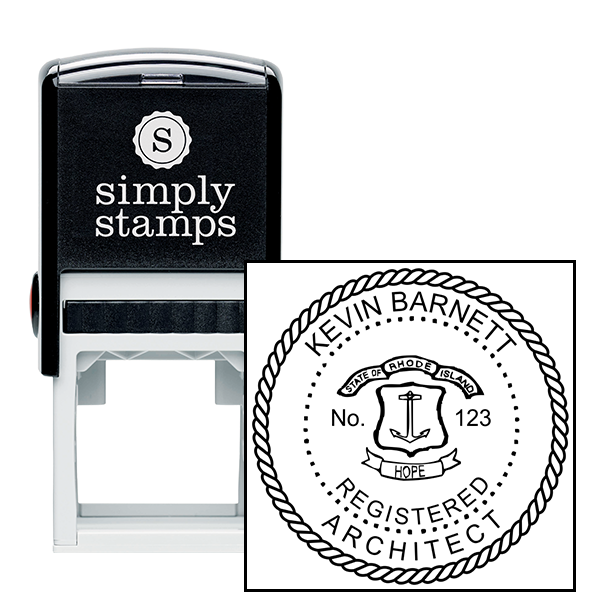 Rhode Island Architect Stamp