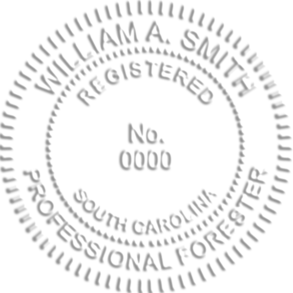 South Carolina Forester Seal
