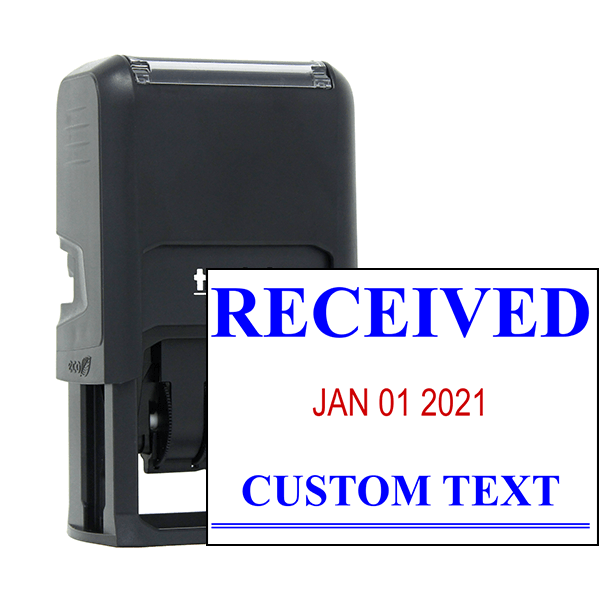 Received News Font Dater Stamp