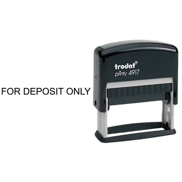 For Deposit Only Stamp Body and Design