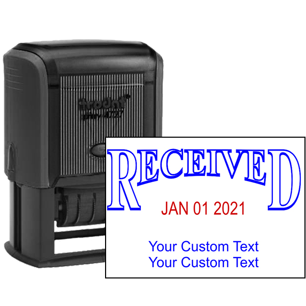 Order Stamps Online >> Received Custom Date Stamp - Simply Stamps