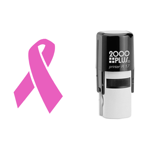 Pink ribbon stamp Body and Design