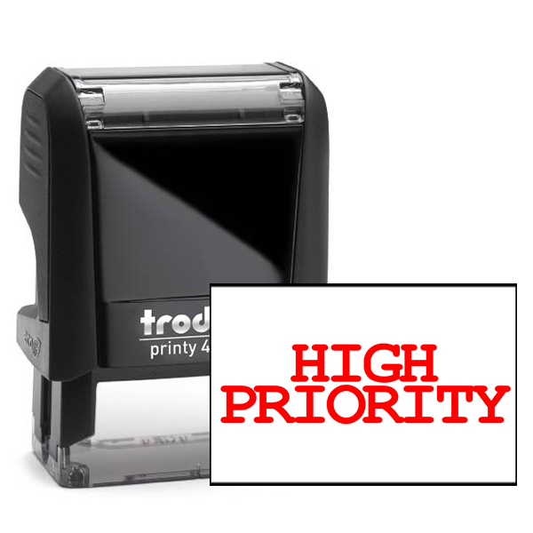 High Priority Stock Stamp