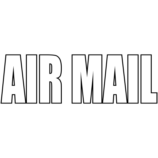 AIRMAIL - Stock Stamp
