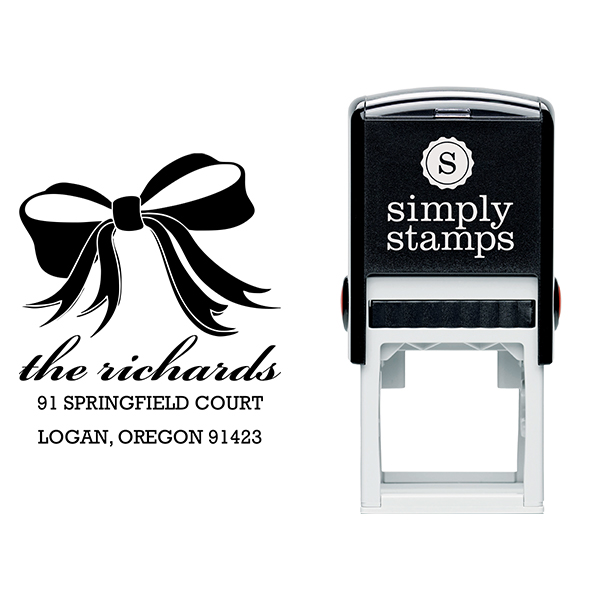 Richards Bow Address Stamp Body and Design