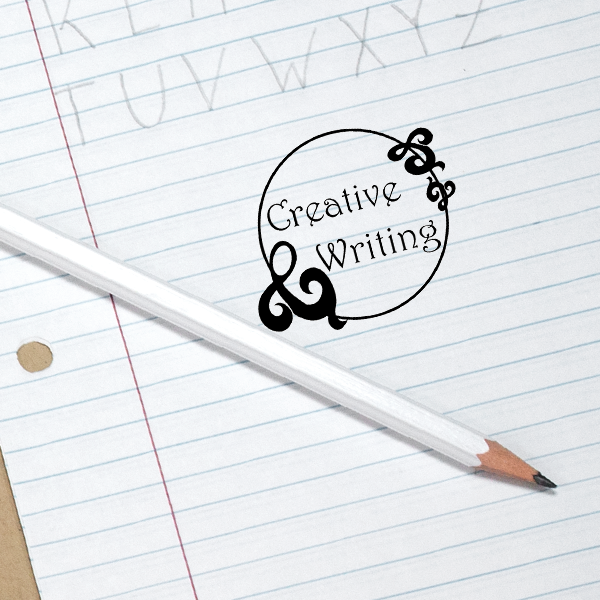 Creative Writing Teacher Class Stamp Simply Stamps