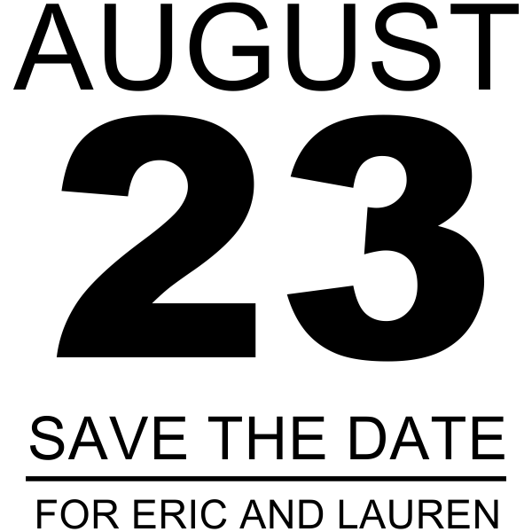 Calendar Sheet Rubber : Calendar page save the date wedding stamp simply stamps
