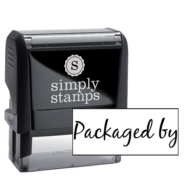 Packaged By Cursive Packaging Stamp