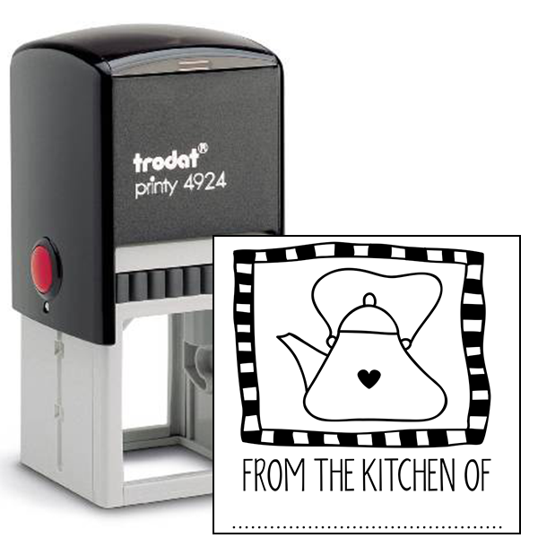 From the Kitchen Tea Kettle Stamp