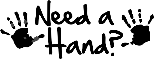 Need a Hand Teacher Stamper