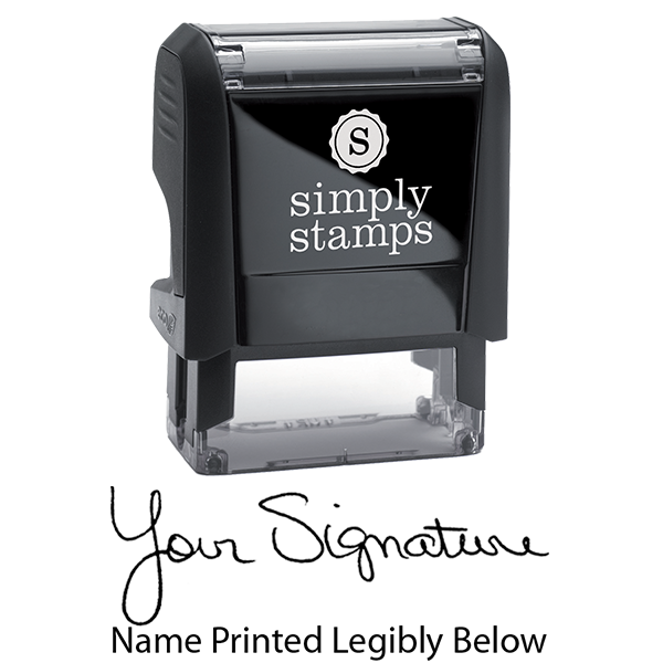 Self-Inking Nurses Signature Stamp Body and Imprint