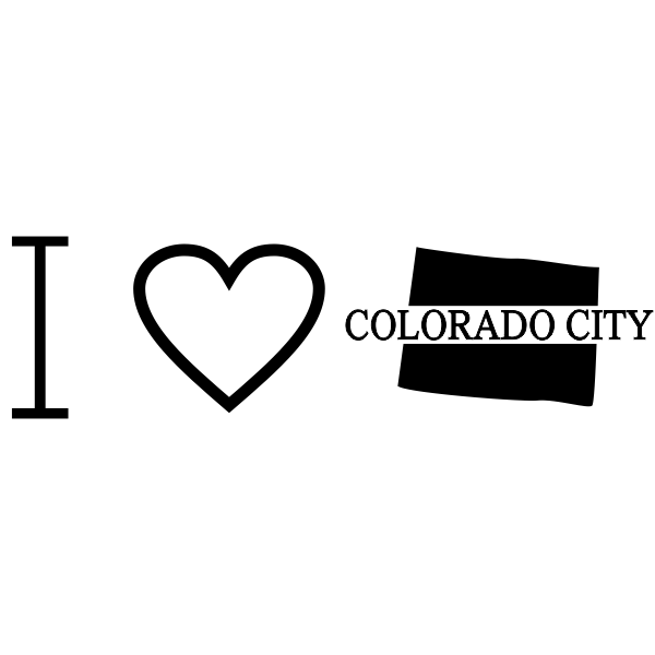 I Love Colorado Rubber Stamp