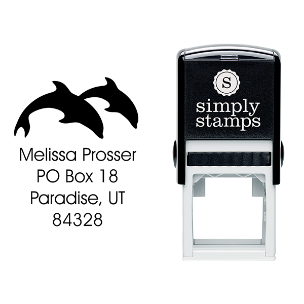 Dolphin Round Stamp Body and Design