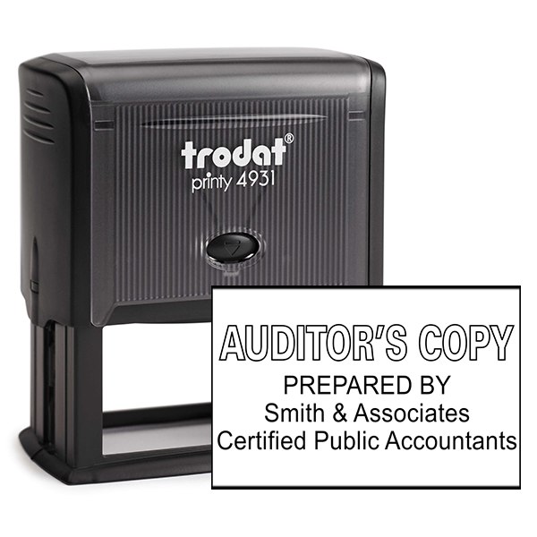 Auditors Copy Stamp Outlined