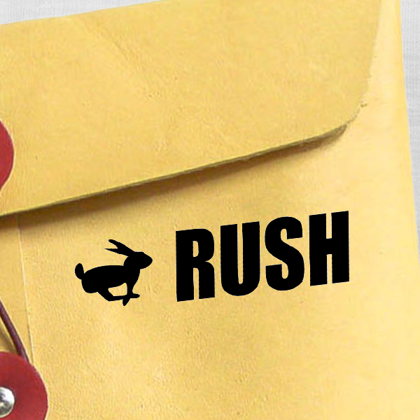 RUSH Bunny Stock Stamp